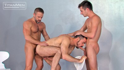 Cut To The Chase: Scene 3: Dirk Caber, J.D. Phoenix & Dolan Wolfe
