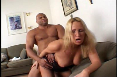 Two big black cocks for Mandy Bright cover