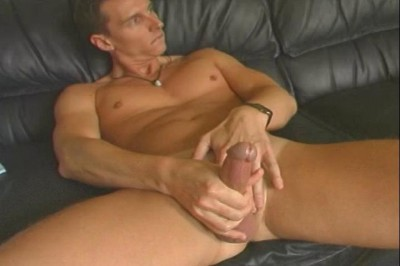 [Pacific Sun Entertainment] Jeff Probes His Rear End With A Toy While Stroking His Shaft