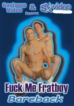 Fuck Me Fratboy Bareback cover