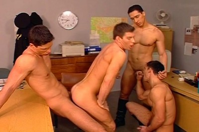 [Pacific Sun Entertainment]  Group Of Boys Masturbating Inf Ront Of Others cover
