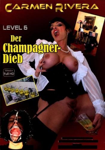 Carmen  Rivera - Level  6  Der  Champagner-Dieb cover