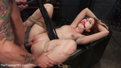 Redhead Spanish Slave Training - Amarna Miller Day 3