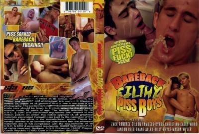 Bareback Filthy Piss Boys - Mason Wyler, Dillon Samuels, Zack Randall