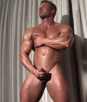 Kane Griffin - Handsome Blond Muscle cover