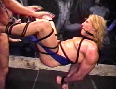 With some beautiful extra bondage scenes including hot wax and clips to