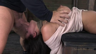 SB - Amazing MILF with Booming body, gets first hardcore bondage!