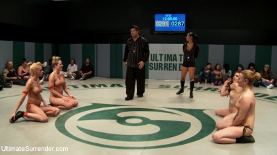 Brutal Tag Team Action, submission holds and nasty 2 on 1 action - Only 3pts separate these 2 teams cover
