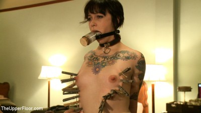 Head maid Iona is fisted for the first time by eager sex slaves cover