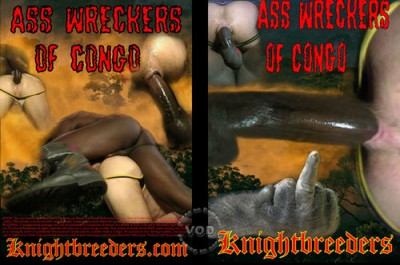 Ass Wreckers Of Congo - Damien Silver, Jordan Dominical, Cliff Manson cover