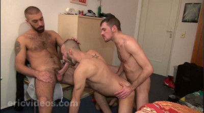 Rocco XXL and Olivier load a whore together cover