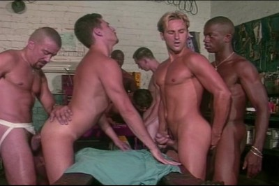 Popular Mechanichs Gang Bang Scene #1 cover