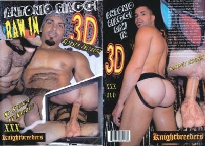 Antonio Biaggi Raw In 3D cover