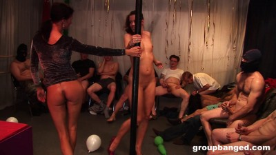 Classy Strippers Satisfy Room Full Of Men cover