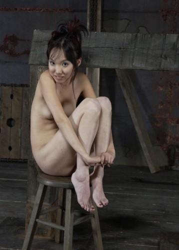 Brutal BDSM for the little Korean woman