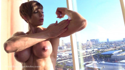 Invitation to jerk off with a view! cover