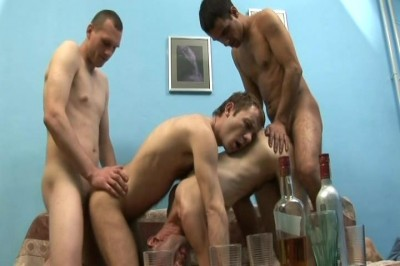 [Alfa Red] Drunk Dudes vol3 Scene #2 cover