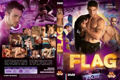 Flag:Derapages-2 (Ludovic Pelletier, Menoboy) [2009, Oral, anal, threesome, trans, uniform, DVDRip] cover