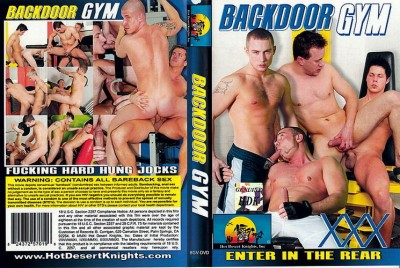 Hot Desert Knights - Backdoor Gym: Enter In The Rear