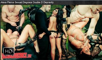 Sexualdisgrace - May 04, 2016 - Alexa Pierce Sexual Disgrace Double D Depravity