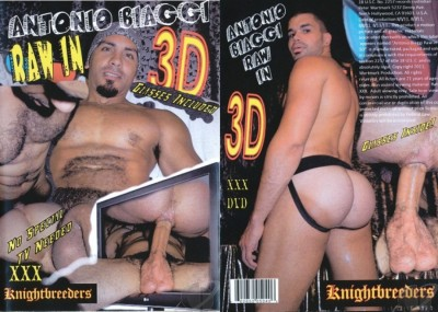 Antonio Biaggi Raw in 3D cover