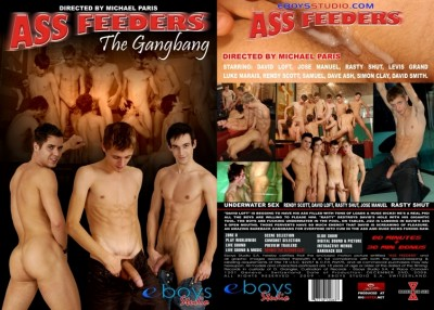 Ass Feeders The Gangbang cover