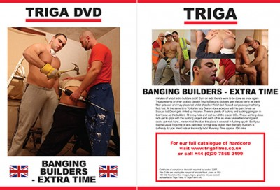 Banging Builders Extra Time (2012) DVDRip cover