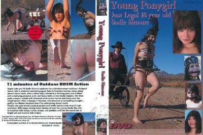 Young Ponygirl – Sadie Simone cover