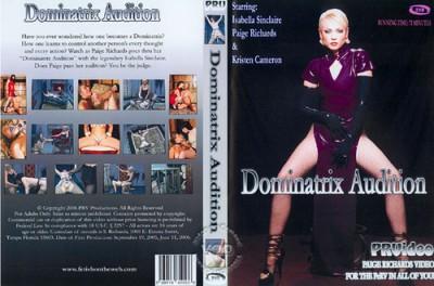 Dominatrix Audition cover
