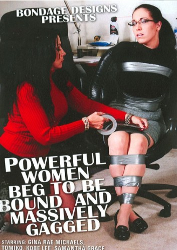 Bondage Designs - Women Massively Gagged DVD cover