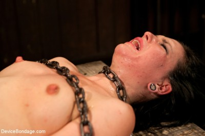 Pretty gets punished - double penetration and made to squirt into exhaustion cover