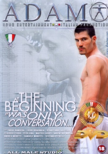 00437-At the beginning it was only a conversation [All Male Studio] cover