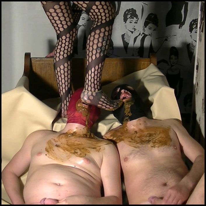Full toilet action with Godess 2 slaves_cover